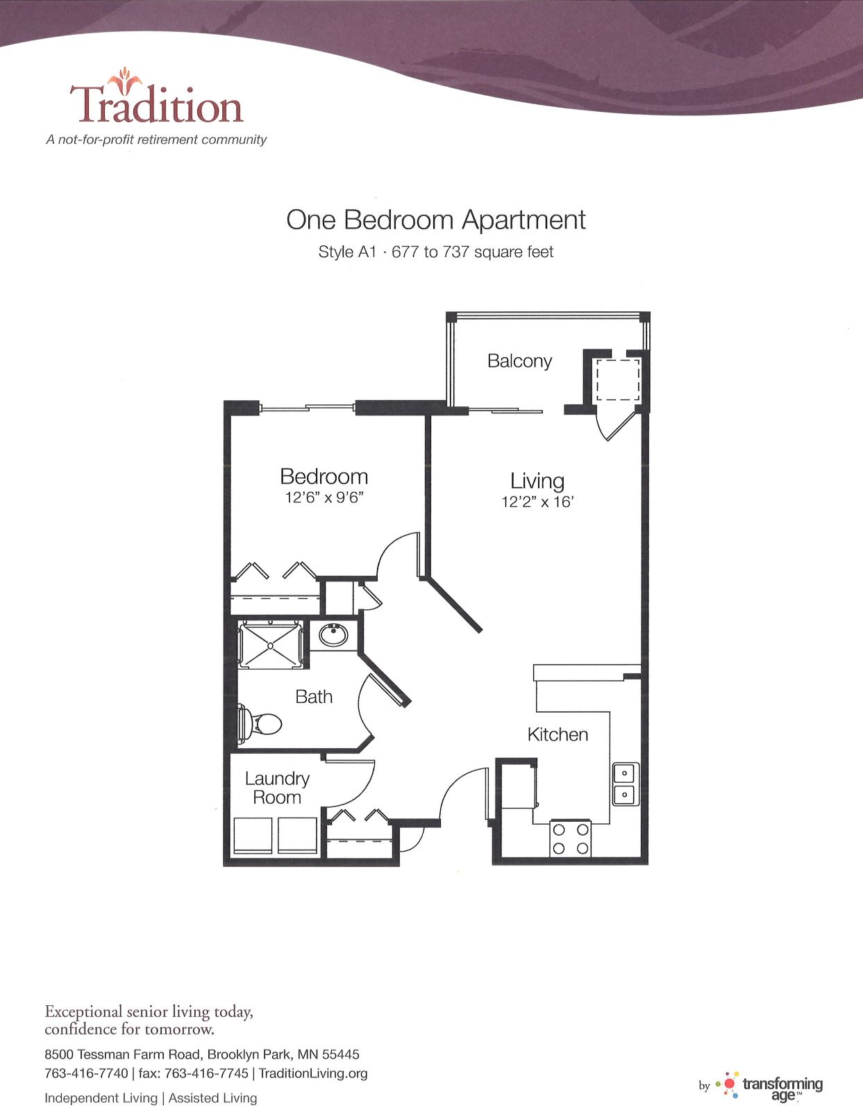 One Bedroom Apartment (A1)