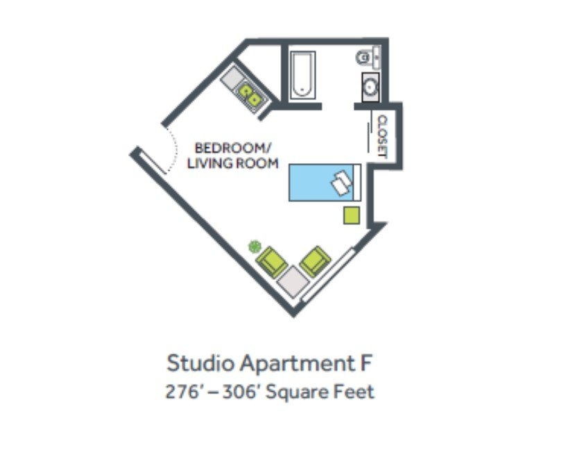 Studio Apartment F