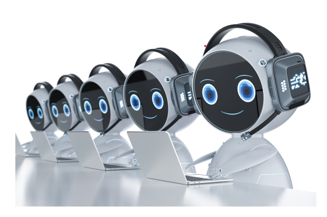 robotically reach out to communities